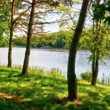 Fotók_Kerékpáros utak bemutatásához_Kiruccanás a festői szépségű Hársas-tóhoz (Őrség 6)